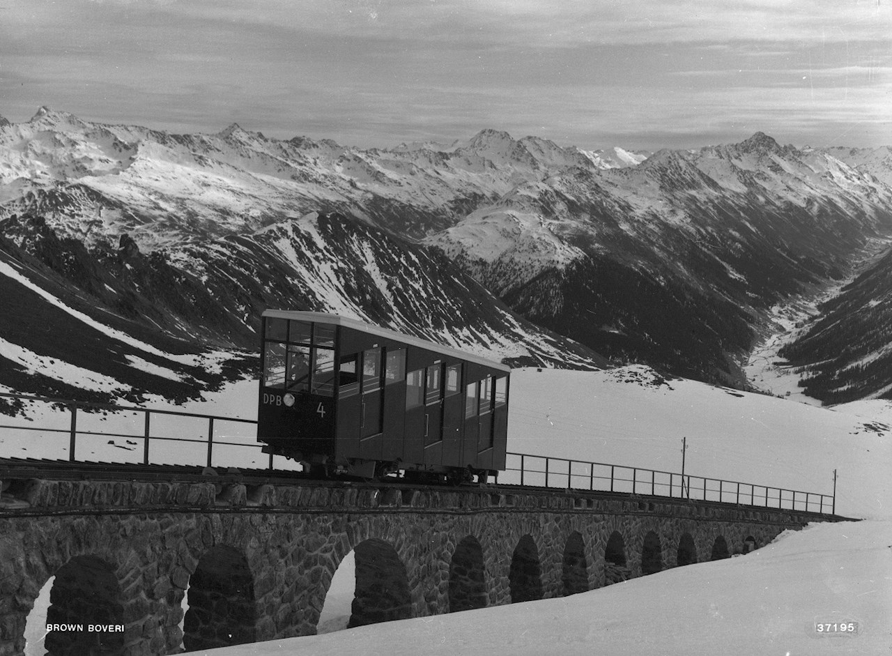 Davos-Parsenn funicular (1933)