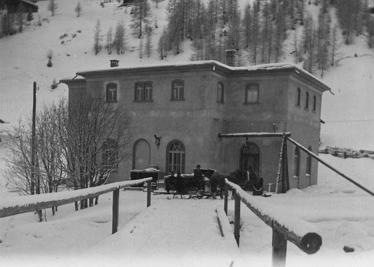 Central hidroeléctrica de Davos (1899)