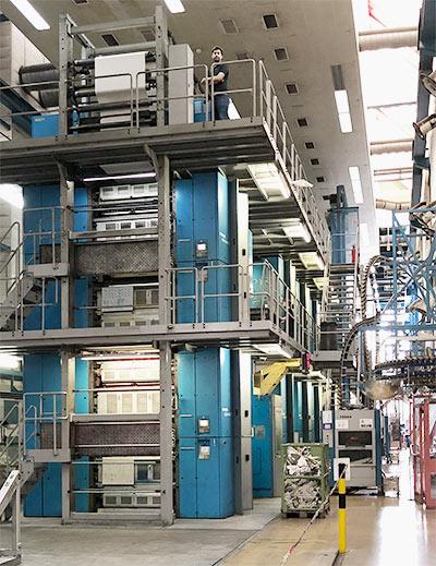 Die «Wifag evolution 371»-Druckmaschine bei Centre d'Impression Lausanne