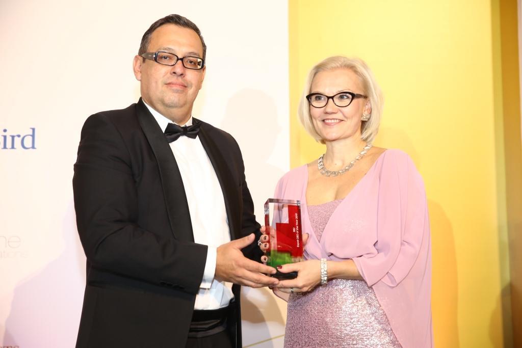 Taira-Julia Lammi az év külföldi vállalatvezetője, Expat CEO of the Year 2019 Gala