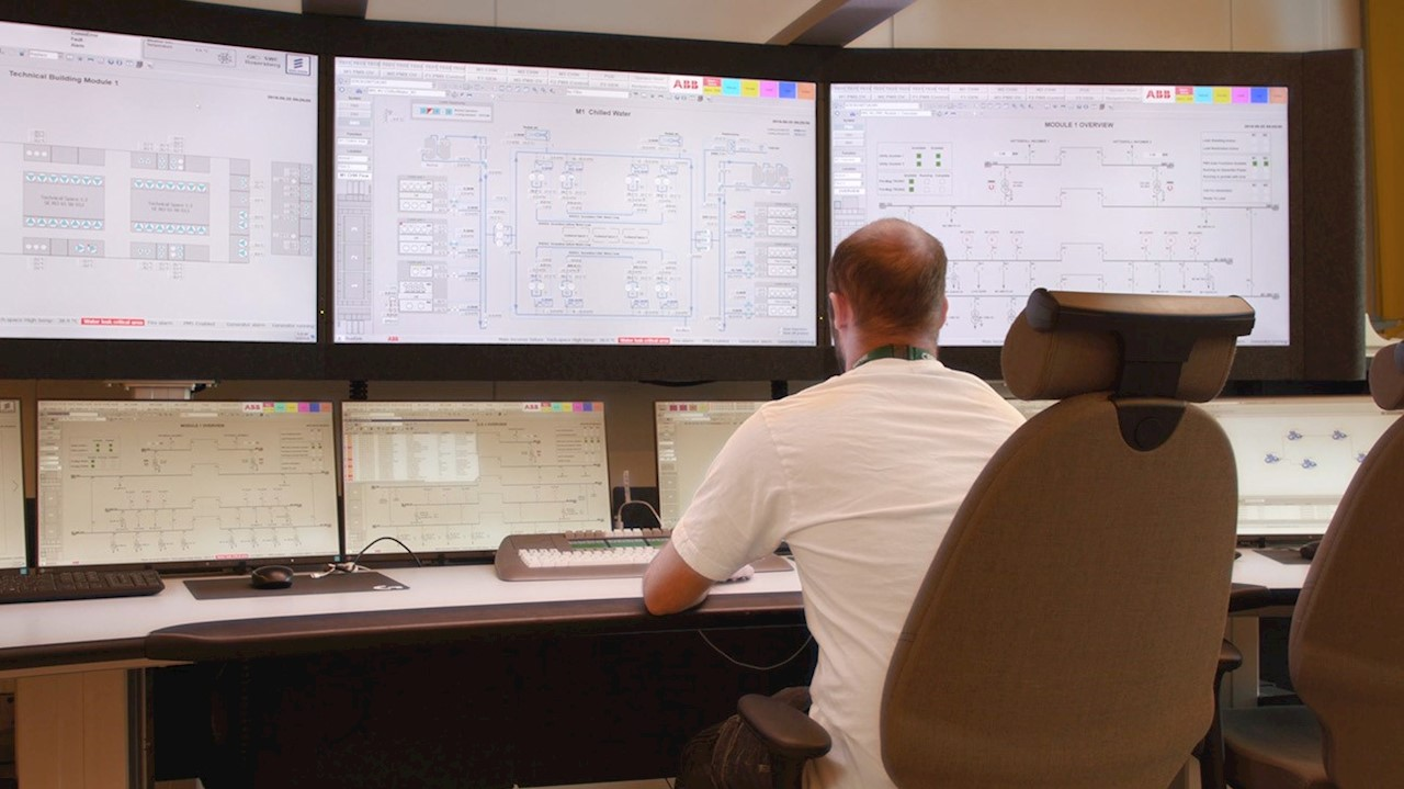 ABB's all-in-one automation system means efficient