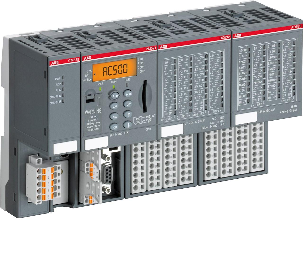 Il PLC AC500 di ABB