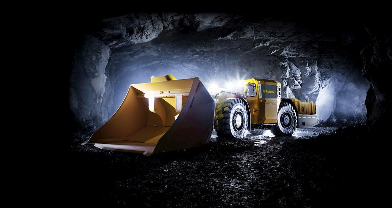 Epiroc använder ABB: s e-drivlina för sin andra generation batteridrivna underjordiska gruvfordon som möjliggör dieselfri gruvdrift med förbättrad luftkvalitet och lägre buller. Foto: Epiroc