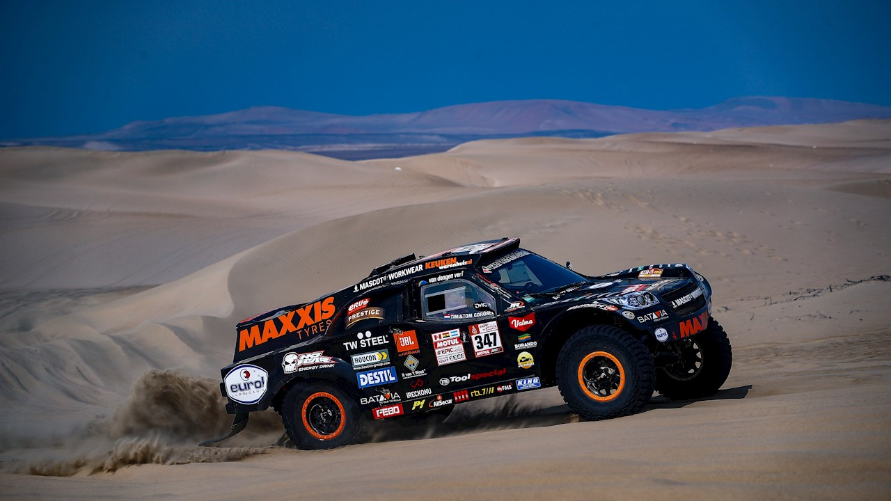 ABB parts help the Coronel Brothers prep for another grueling Dakar Rally