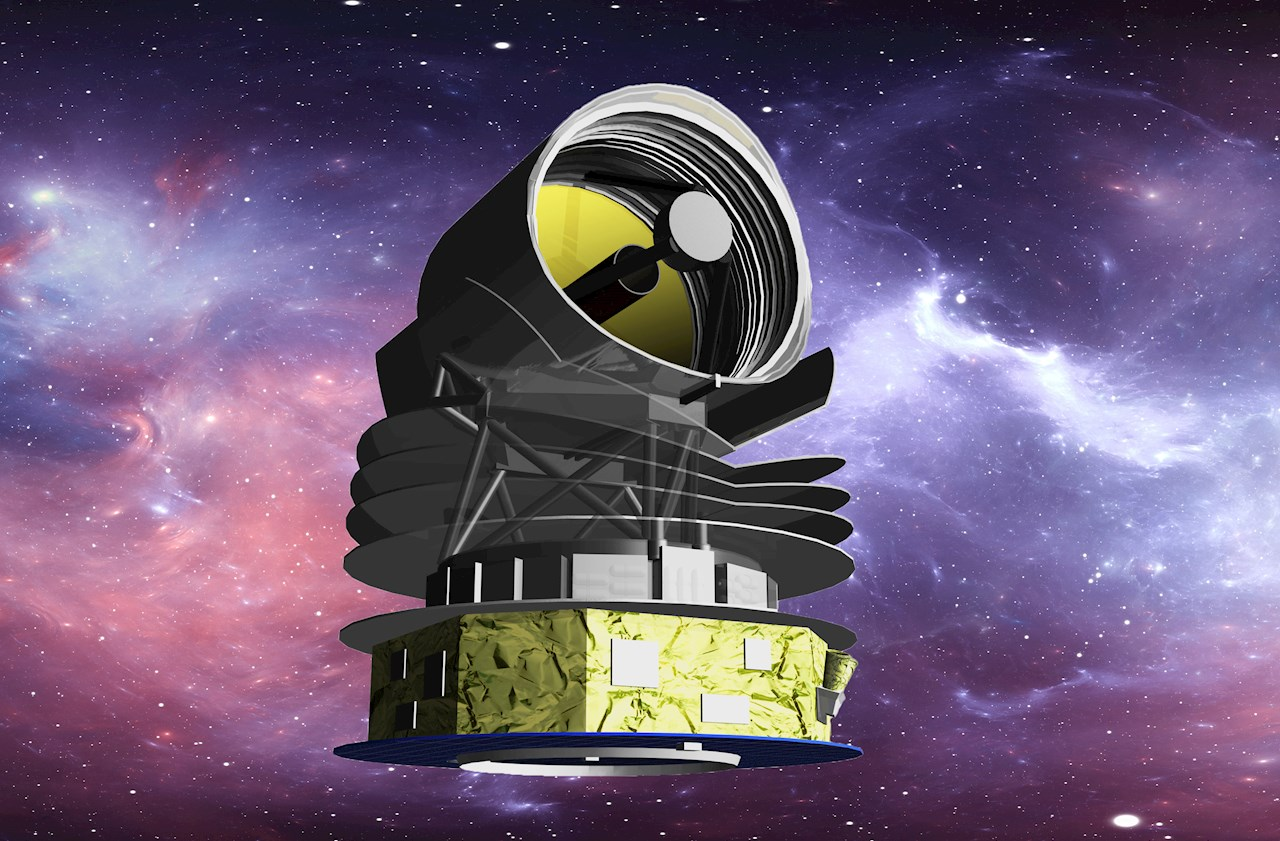 Lo Space Infrared Telescope for Cosmology and Astrophysics (SPICA) - Credito: JAXA / ISAS