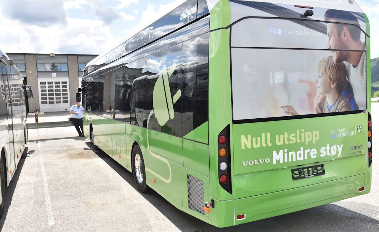 ABB leverer depot- og pantograflading for 23 elektriske busser som settes i drift i Bærum/Oslo juni 2020 (illustrasjonsfoto)