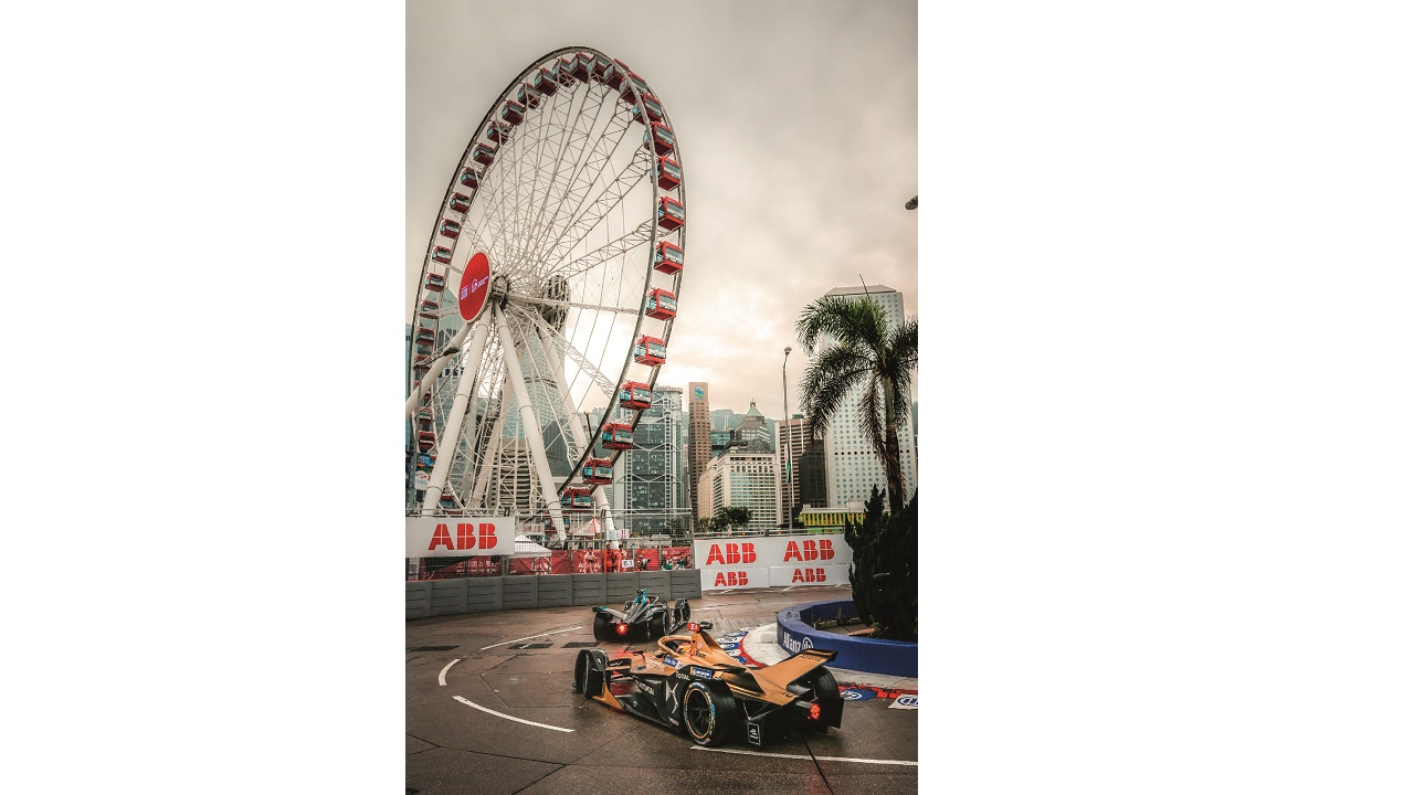 05 The 2019 Formula E Championship in Hong Kong. Jean-Éric Vergne of France driving the Gen2 DS E-Tense for the DS TECHEETAH team.