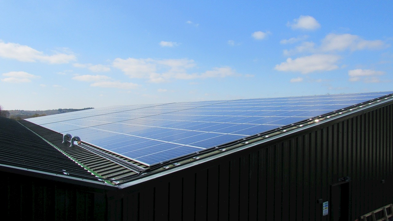 Premium bottled water producer installs UK's first ABB PVS-100 solar inverter