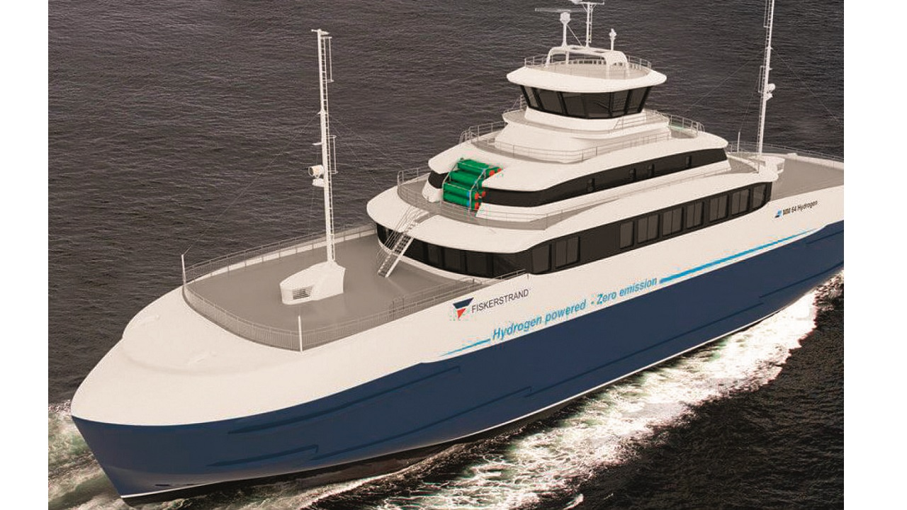 04 The world's first conversion of a passenger ship retrofitted with fuel cells for zero-emissions, is expected to be operating on a domestic route by the end of 2020.