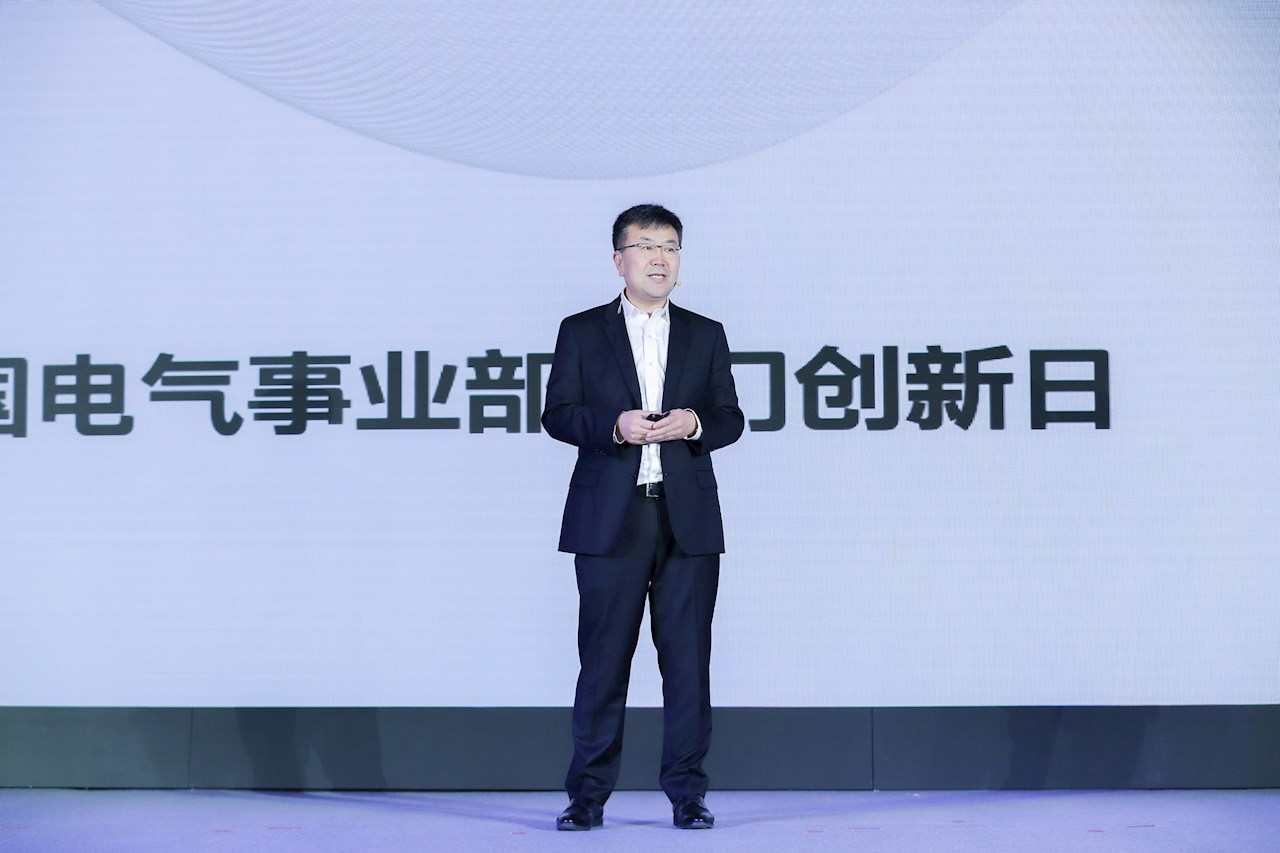 James Zhao, lead business manager for ABB's Electrification business in China