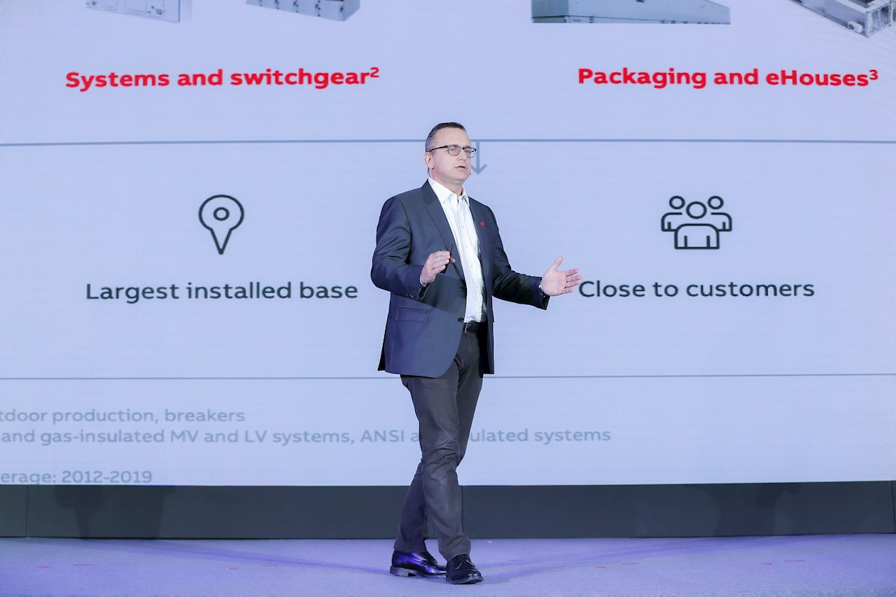 Alessandro Palin, Managing Director of ABB's Distribution Solutions business line