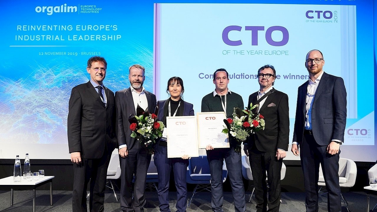 ABB Electrification's Amina Hamidi awarded CTO of the Year 2019