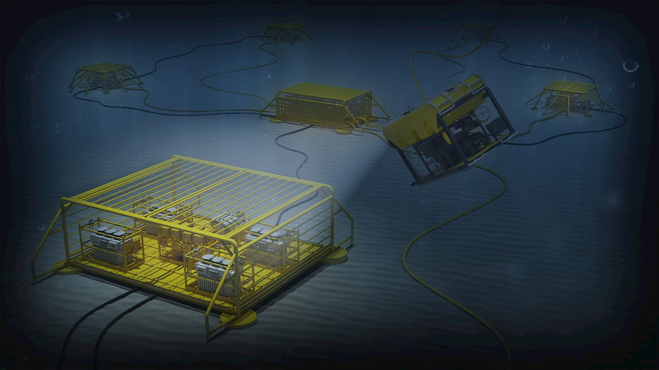 ABB subsea and power distribution and substation
