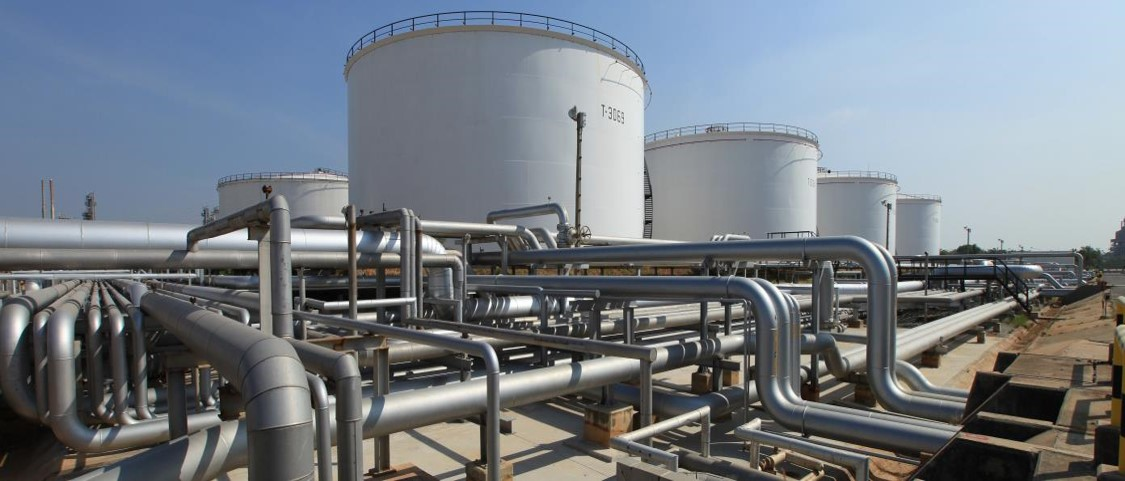Sadara chemical plant in the Jubail Industrial City