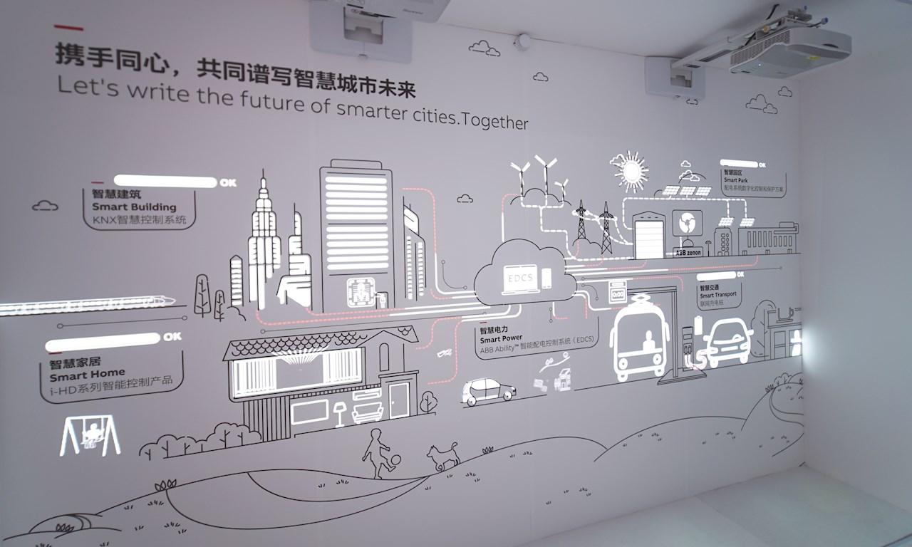 ABB開放創新中心展廳