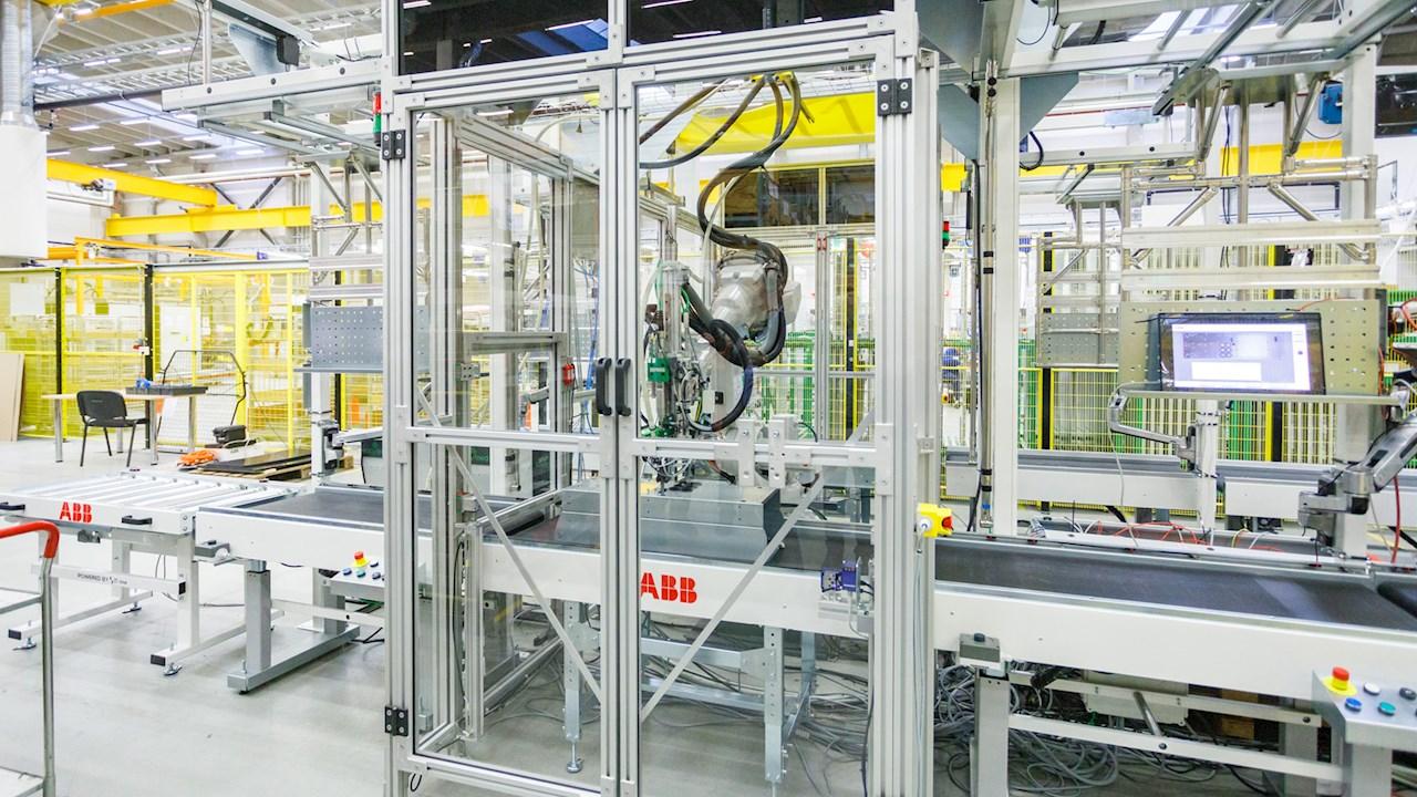 Eesti ABB avas robotliinide tootmisüksuse
