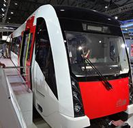 China's first rapid regional train