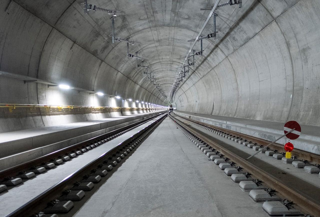 The Ceneri Base Tunnel  © SBB