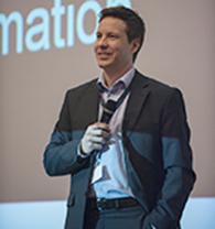Petri Kärki at the seminar emphasizing the value of close collaboration.