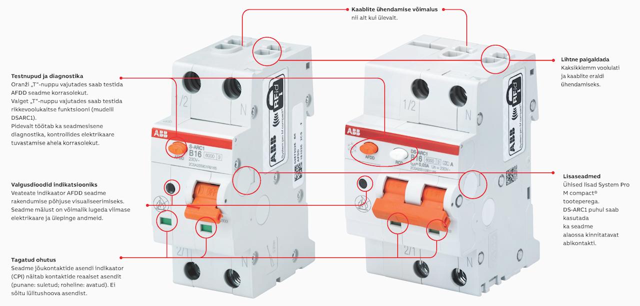 ABB elektrikaare tuvastusseade aitaks vältida paljusid tuleõnnetusi.
