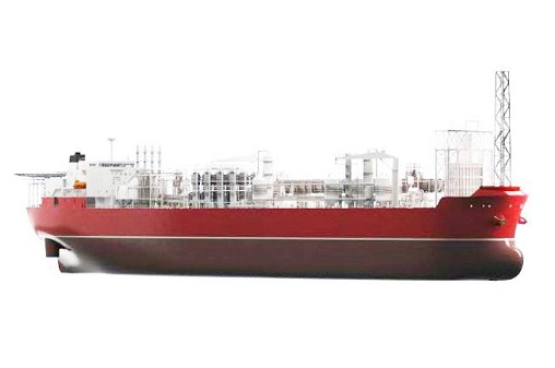 Illustration of an FPSO