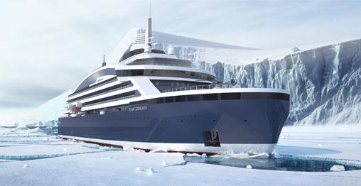 Image courtesy of Ponant - Stirling Design International