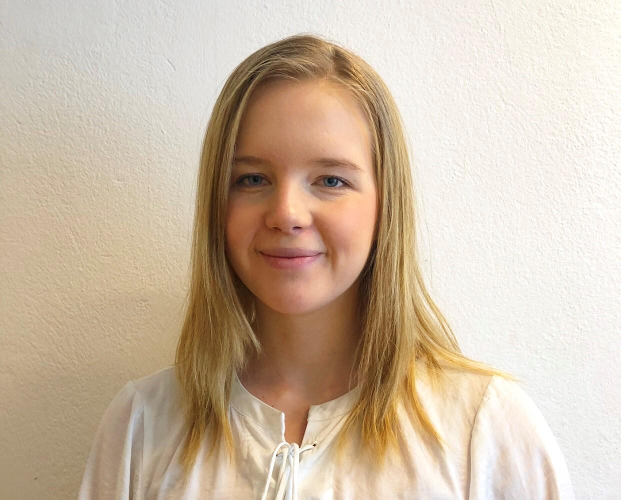 Elin Westin Råneby läser sista terminen på civilingenjörsprogrammet i industriell ekonomi med inriktning energiteknik vid Mäldalens Högskola