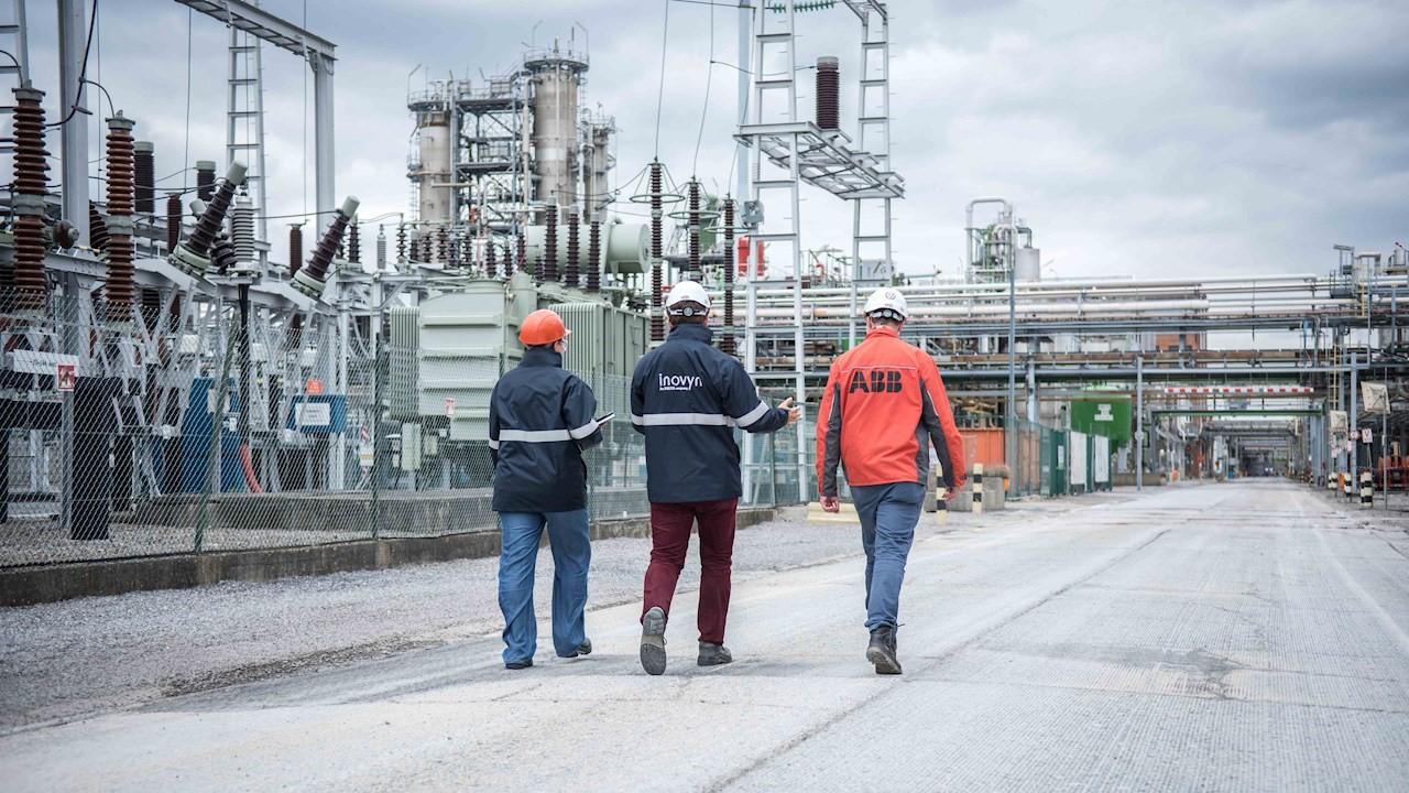 Inovyn ist Europas größter Hersteller von PVC und setzt seit fast zwei Jahrzehnten auf Technologie von ABB Bild: ABB