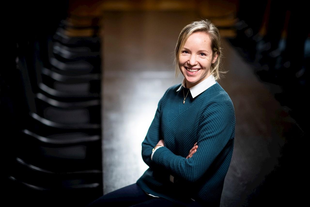 """""""Om Sverige ska hänga med och positionera sig långt fram inom områden där utvecklingen går fort så måste företag samverka. Partnerskap och digitalisering är två viktiga områden för att skapa konkurrenskraft framöver"""", säger Karin Hermansson. Foto: Jonas Bilberg."""