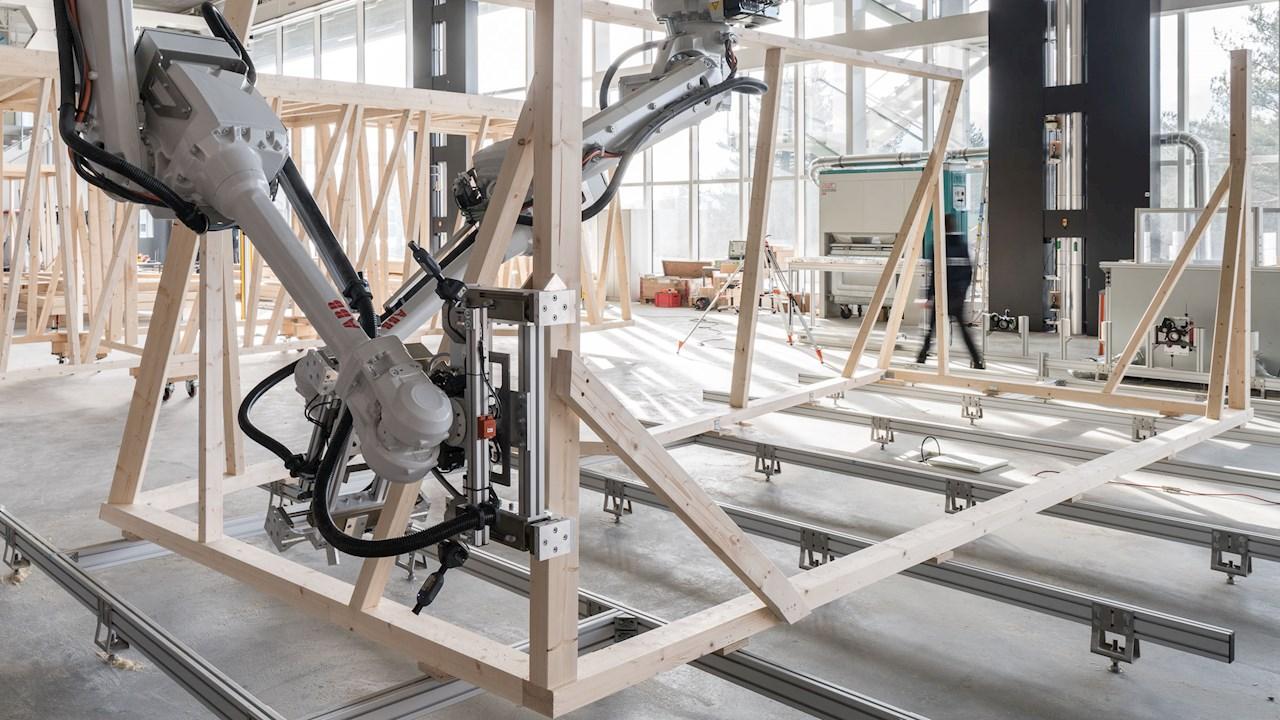 ABB ermöglicht weltweit erstes Haus in neuem Digital-Bauverfahren