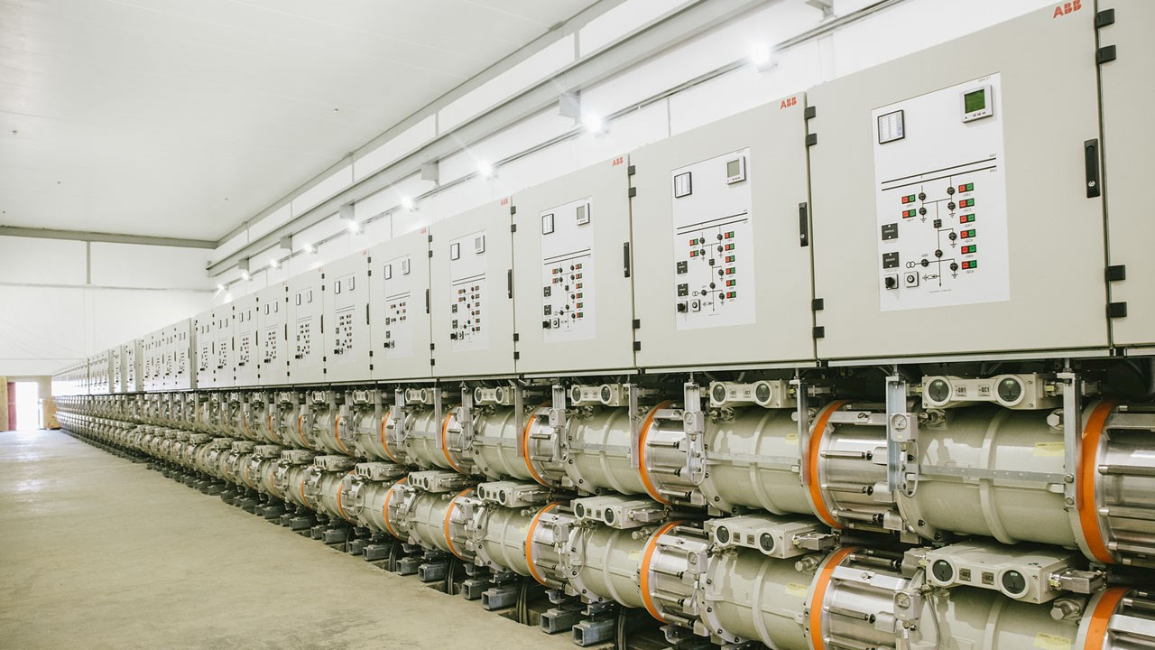 ABB powers Africa's largest gas-insulated switchgear installation
