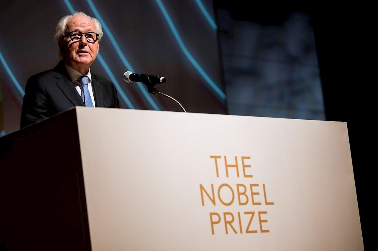 Lars Heikensten, presidente da Nobel Media. Imagem: © Nobel Media