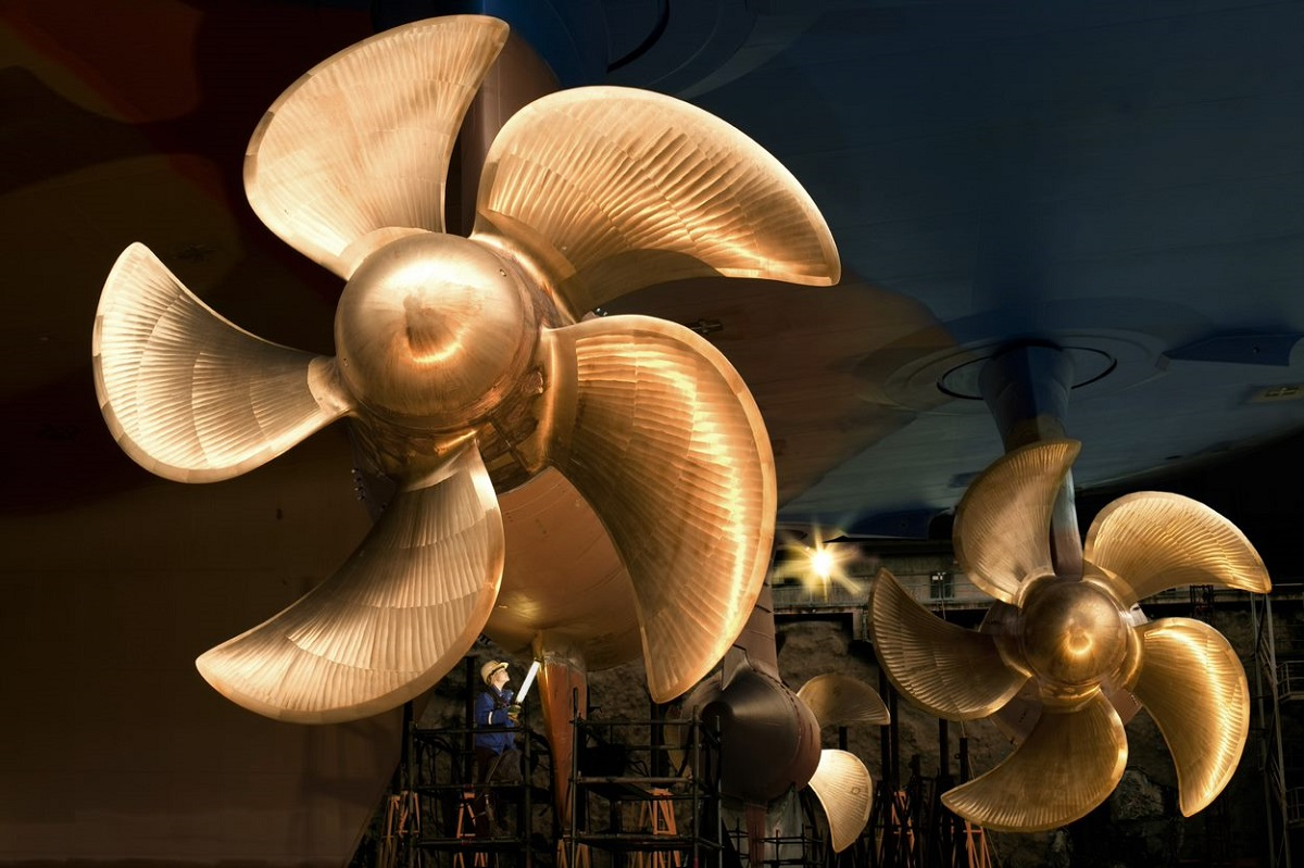 ABB's all-electric Azipod® propulsion systems