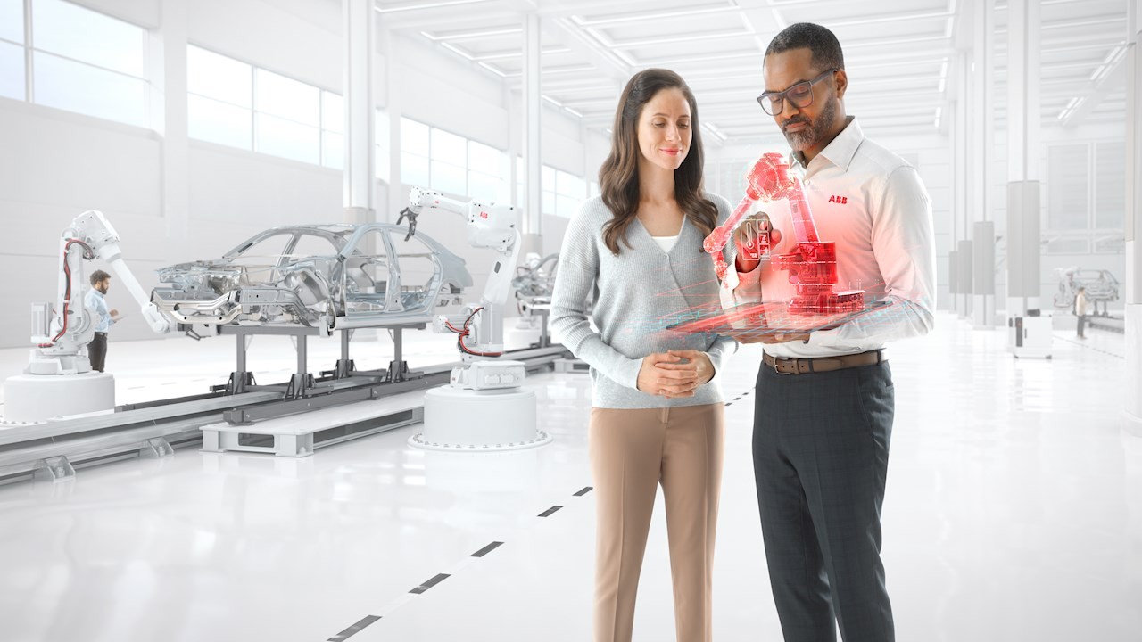 ABB scrie viitorul industriilor digitale la Târgul de la Hanovra