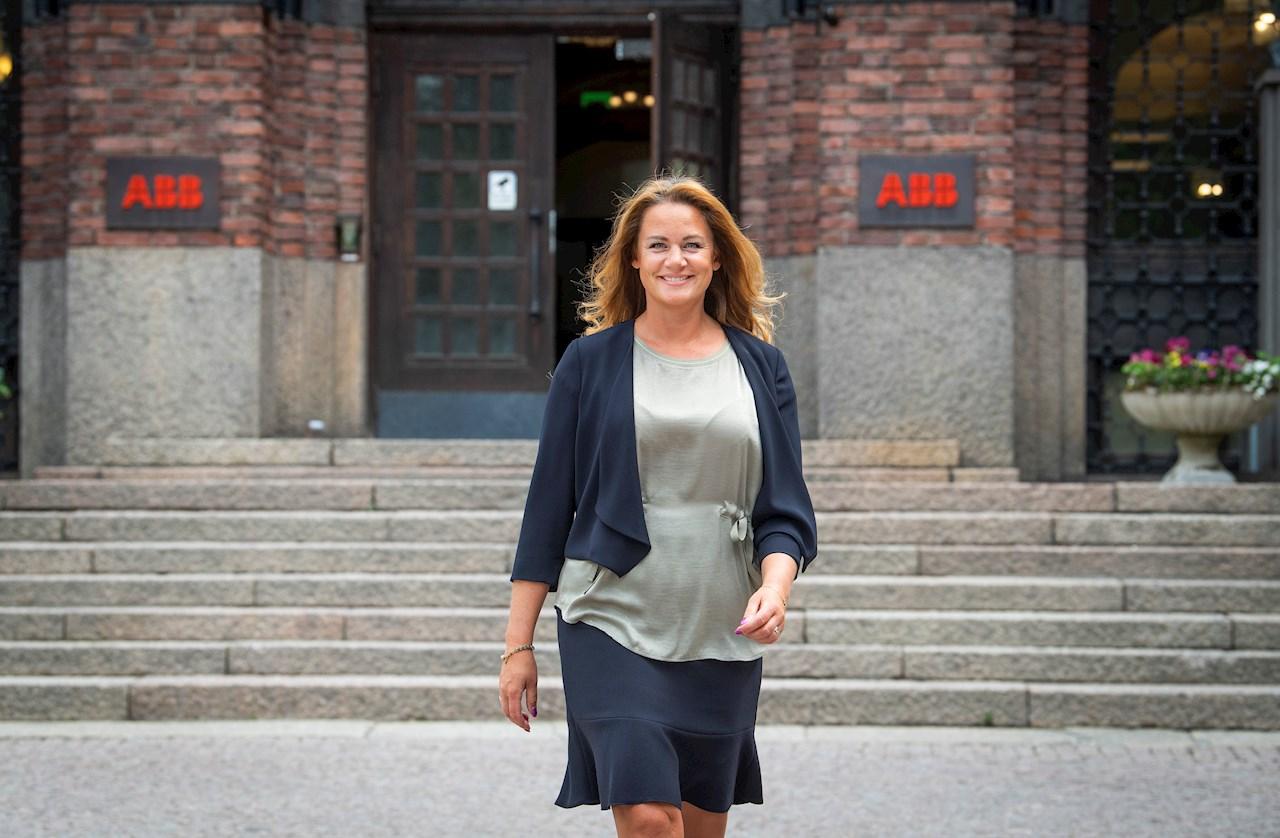 Jenny Larsson brinner för mångfald. Foto: Jonas Bilberg.