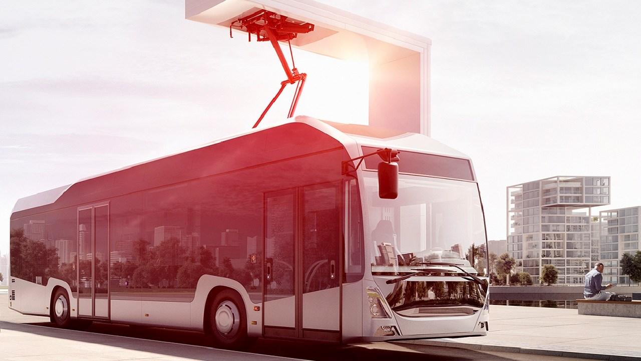 АББ зарежда първия трансферен автобус без вредни емисии на Hannover Messe