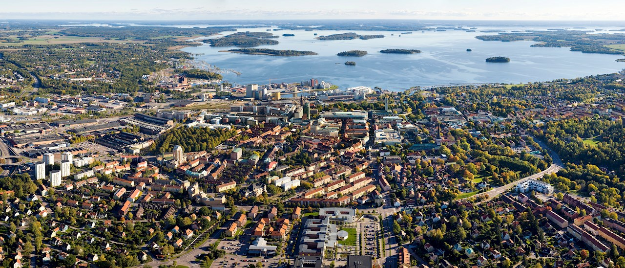 ABB develops smart city solutions for the city of Västerås, Sweden.