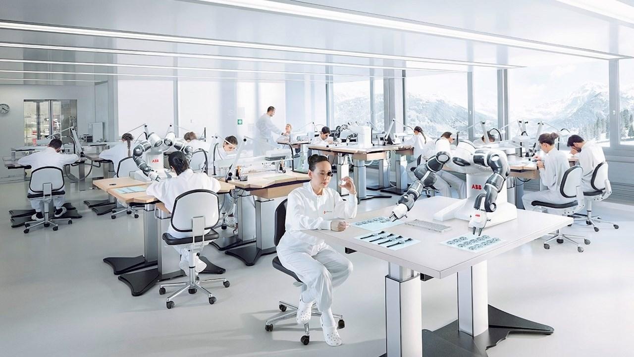 Išmanioji gamyba ir jos skaitmeninis pavyzdys ABB ateities gamykloje