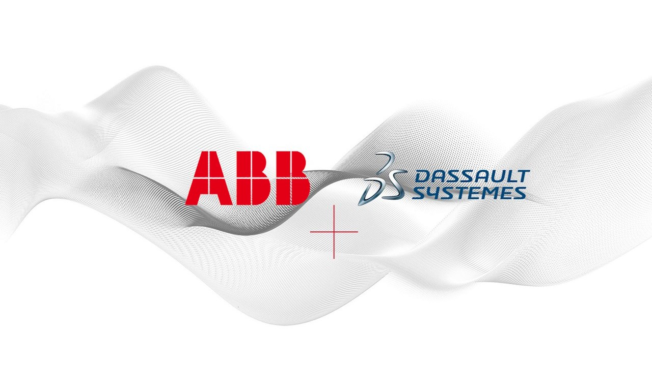 ABB and Dassault Systèmes showcase first robotics digital twin at Hannover Messe