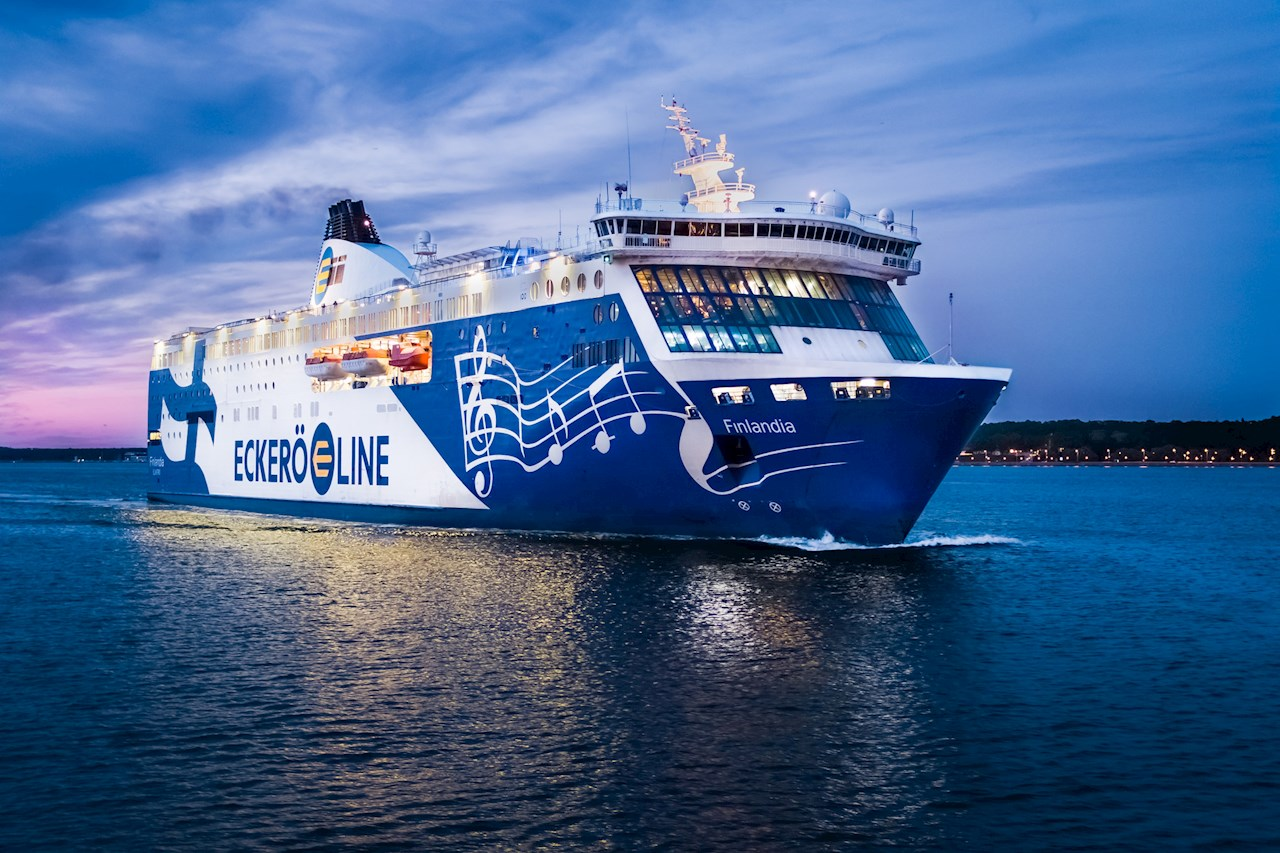 MS Finlandia. Photo courtesy of Eckerö Line