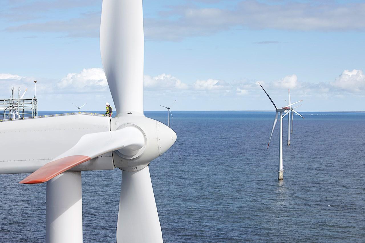 ABB vinner storordre for overføring av havvindkraft fra Nordsjøen