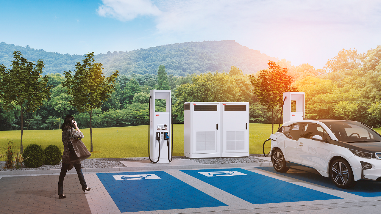 ABB's future proof e-mobility solutions support French emission reduction targets