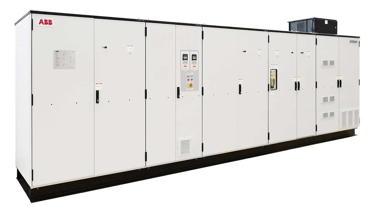 ABB introduces ACS6080 drive for high performance motor control