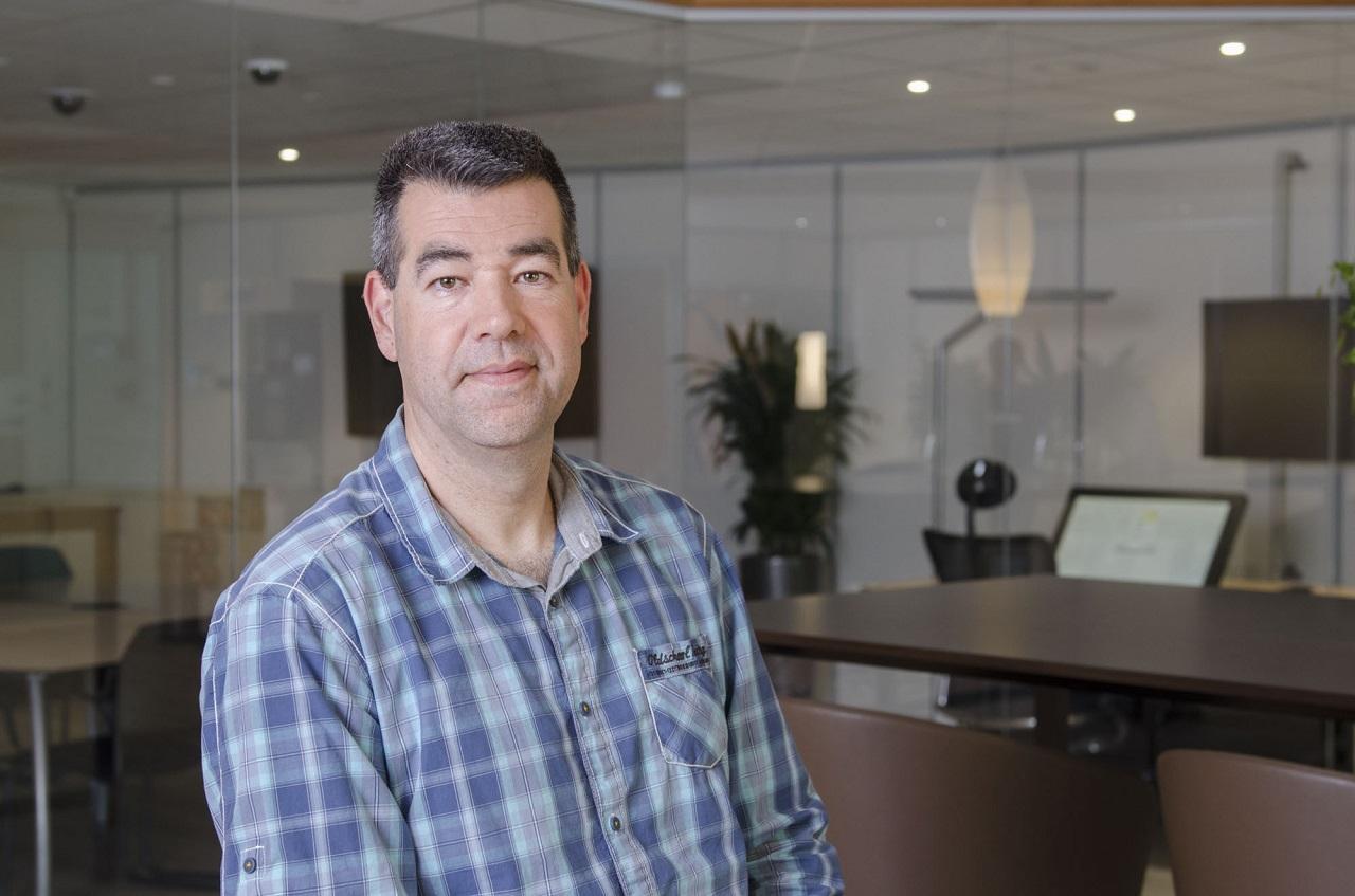 Edwin van der Laars, teknisk projektledare hos Croonwolter&dros