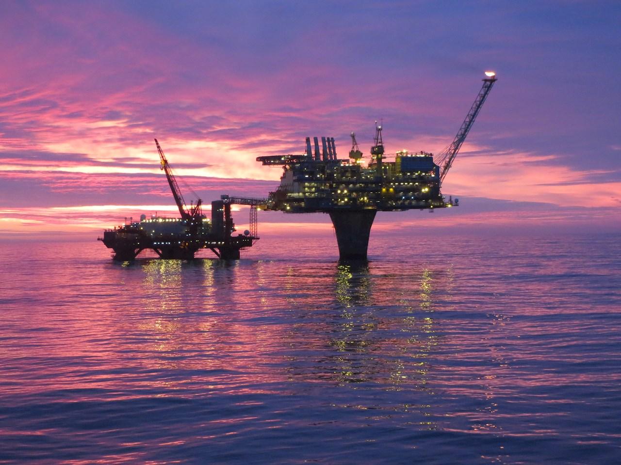 ABB og OKEA samarbeider om effektiv, sikker og stabil drift av Draugen (Ill. Shell/OKEA)