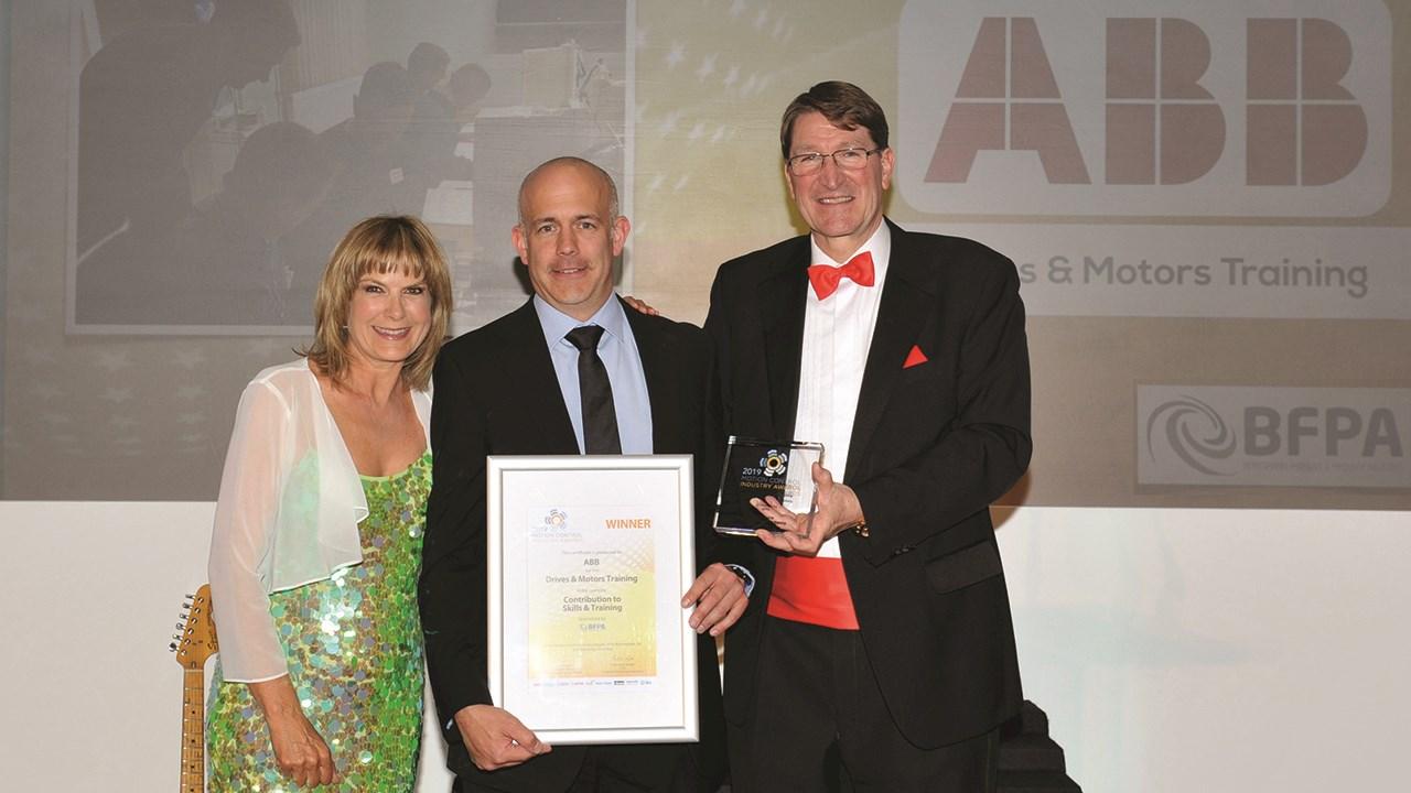 ABB wins national award for diverse training course portfolio