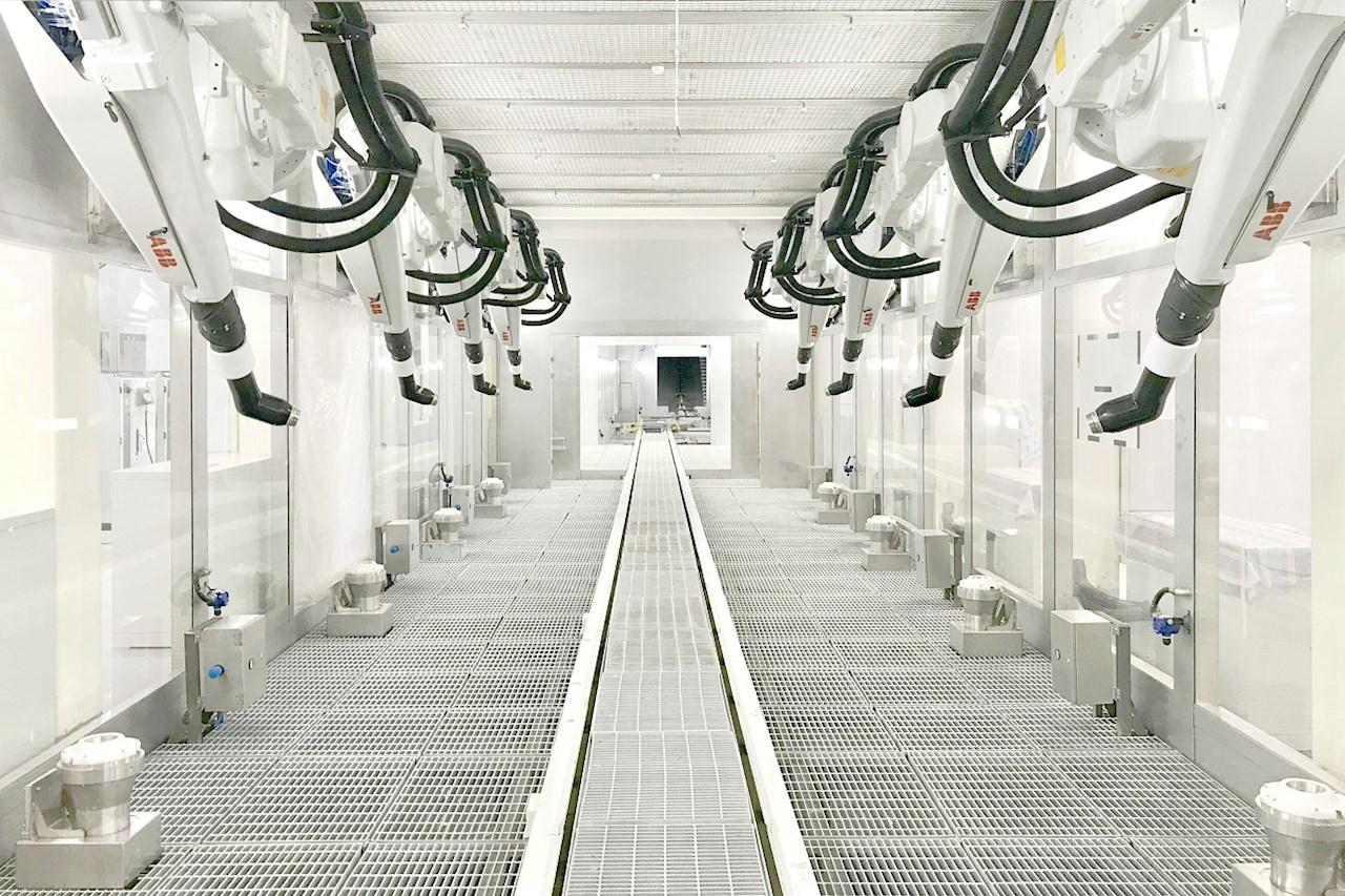 ABB喷涂及涂胶解决方案机器人