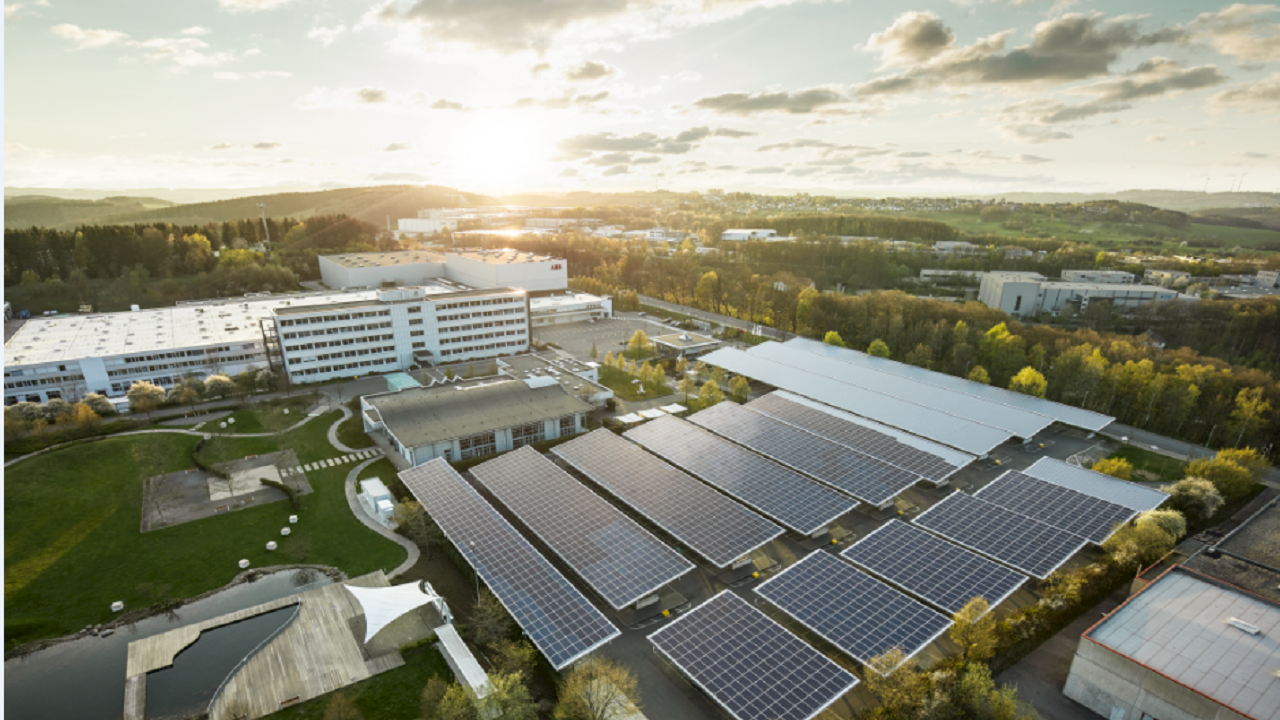 ABB presents state of the art solution for CO₂-neutral and energy self-sufficient factory of the future at its site in Lüdenscheid