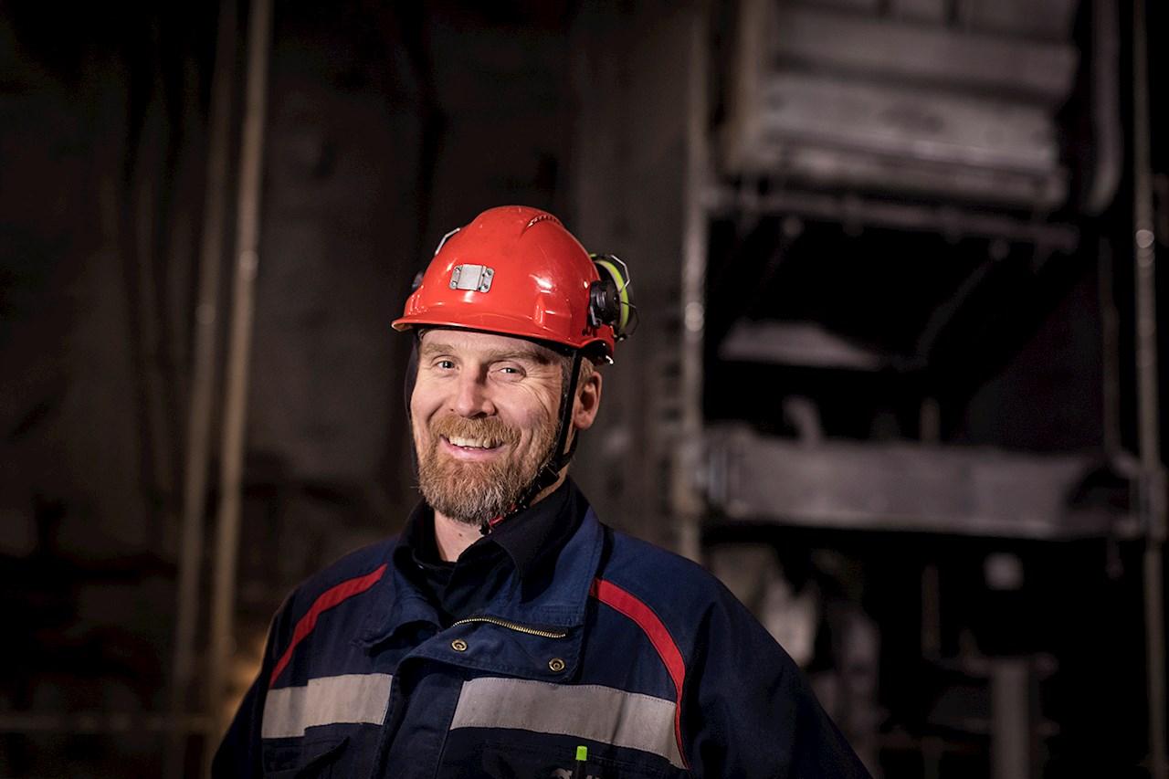Pär Sundqvist är underhållsingenjör på LKAB i Malmberget.