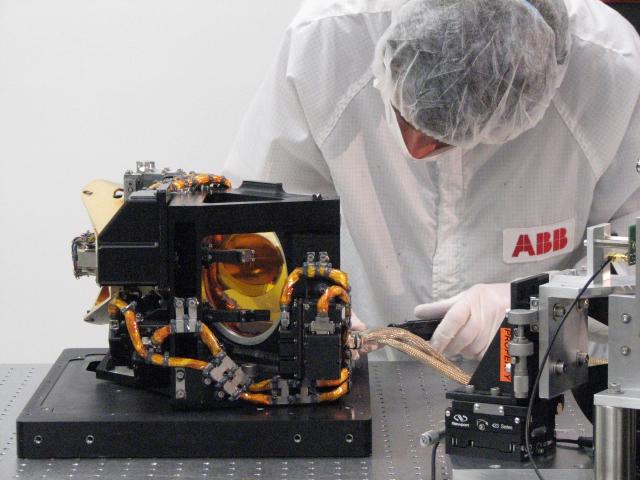 Az ABB évtizedek óta állít elő a légkörben található gázok mérésére és elemzésére alkalmas analitikai berendezéseket